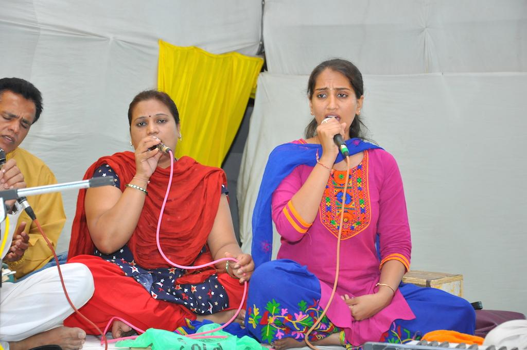 Meena and Pooja Ben