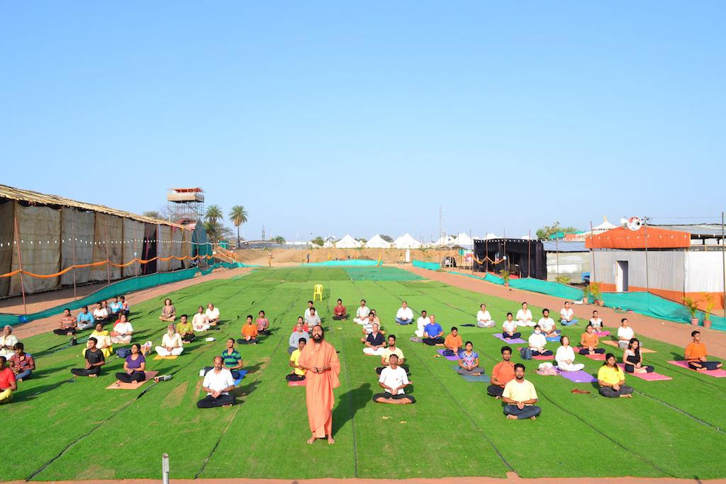 Surya Kriya at Yoga Kumbh - May 13