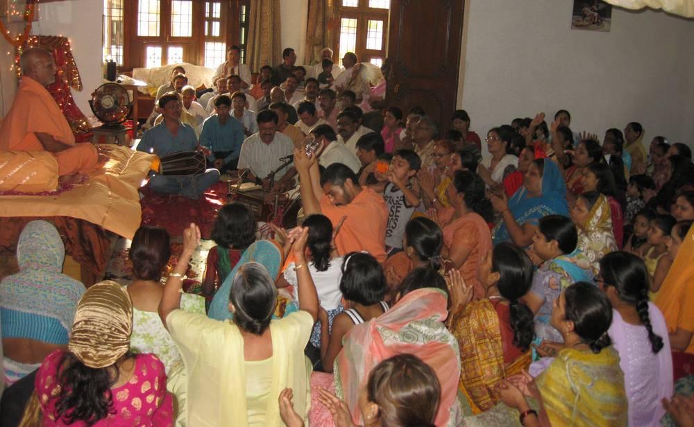 2nd June. Electrifying Satsanga at Lucknow