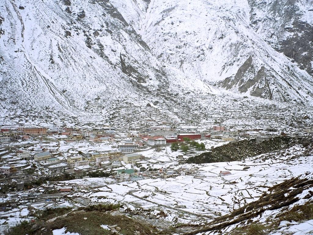 11 Badrinath town 2