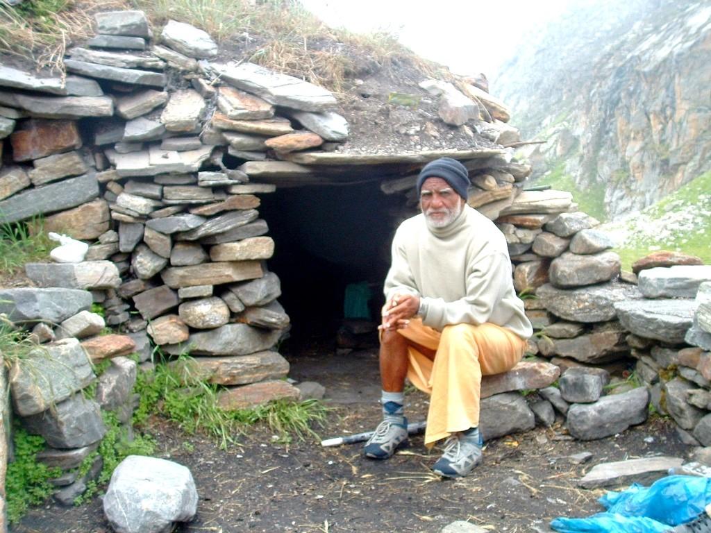 A- a man-made cave