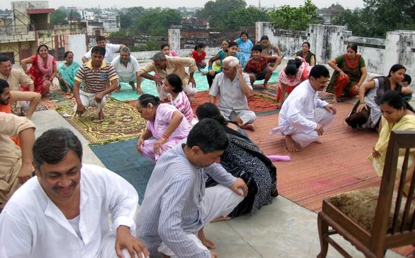 Kriya Yoga Camp at Lucknow   Shabad Surat Sangam Ashram