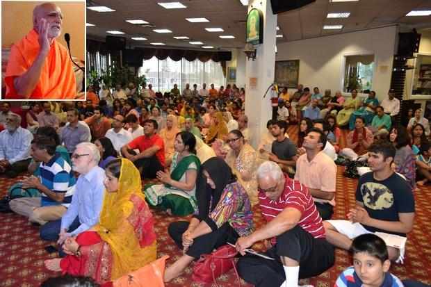 6 Swami Buddh Puri Ji in Bharat Mata Mandir Canada