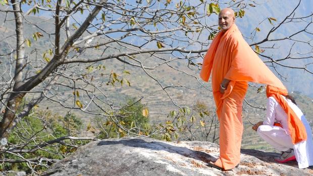 Swami Buddh Puri Ji Maharaj in mountains of Uttarakhand