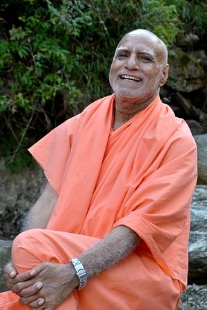 Swami Buddh Puri Ji Maharaj in Himalayan mountains