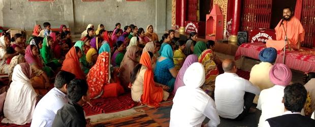 Swami Suryendu Puri in Bhucho Mandi 1