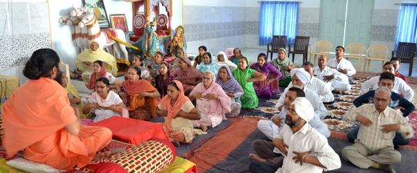 Swami Suryendu Puri in Bhucho Mandi 3