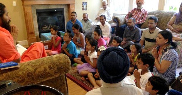 A Children's class at Abbotsford