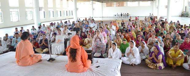 Harisar Ashram monthly Satsang