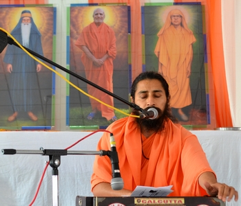 Swamiji's address was emotional, loving, and highly inspiring on this occasion.