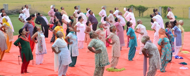 Sanjivani Kriya - relearning to breathe.