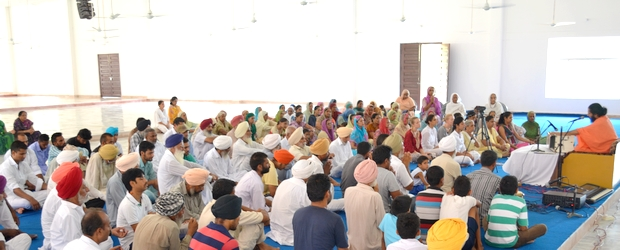 Malke Ashram Monthly Satsang
