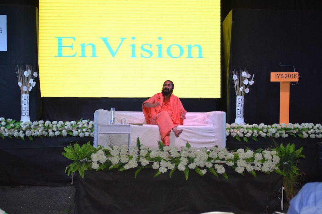 Lecture at Yoga Kumbh - May 13