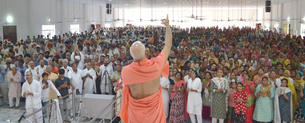 08 October 2019, Shabad Surat Sangam Ashram, Malke, Moga:It's been 5 years since the inauguration of 'Sri Yantra Dhyana Mandir – Tripur Shiva Peetham'. Thousands of devotees had gathered around […]