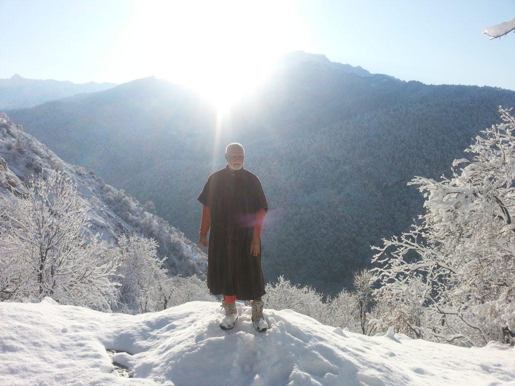 Gurudev in Himalaya