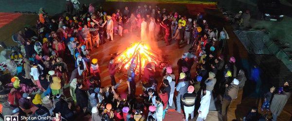 – January 13, 2021 – Shabad Surat Sangam Ashram, Malke, Punjab Yet another 'Lohri' to mark the new beginnings…